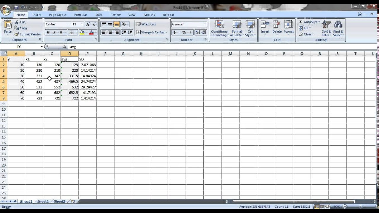 how to add standard error bars in excel