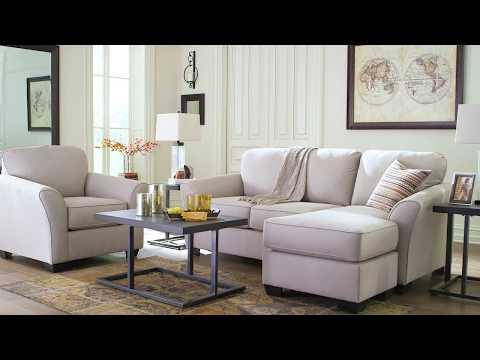 Ashley HomeStore   Terrarita Pebble Living Room