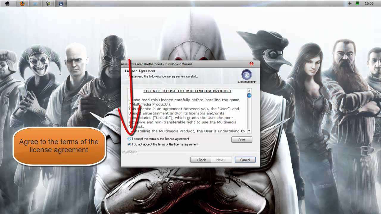 assassins creed brotherhood activation code for pc