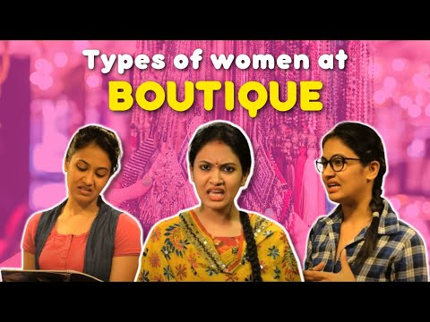 Types Of Women At Tailor Shop | Captain Nick