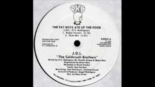 J.D.L. & Cold Crush Brothers - The Fat Boys Ate Up The Food (Club) 1986