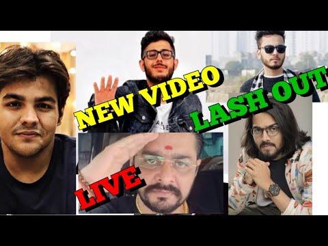 Carryminati NEW VIDEO, Hindustani Bhau & Tik Tok Indian Version,Ashish Chanchlani, Elvish LASHES OUT from YouTube · Duration:  4 minutes 15 seconds