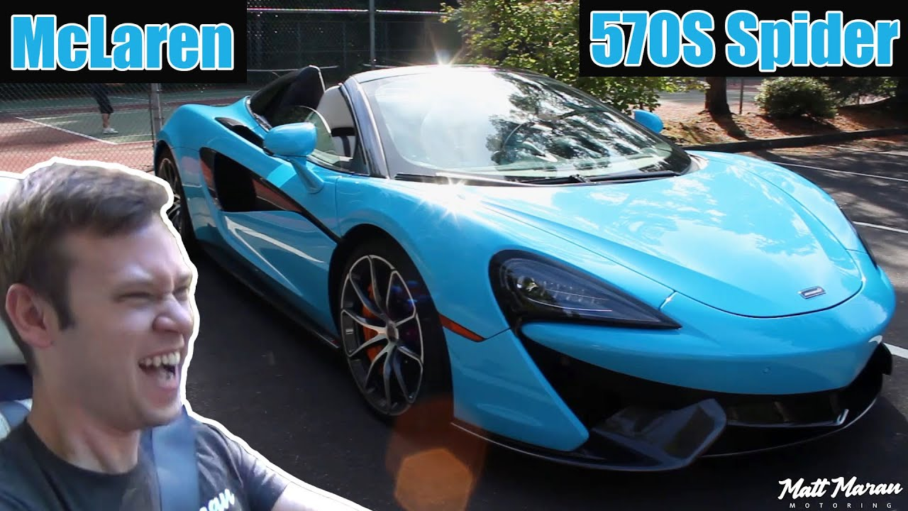 2018 mclaren 570s spider. delighful 2018 review 2018 mclaren 570s spider to mclaren 570s spider