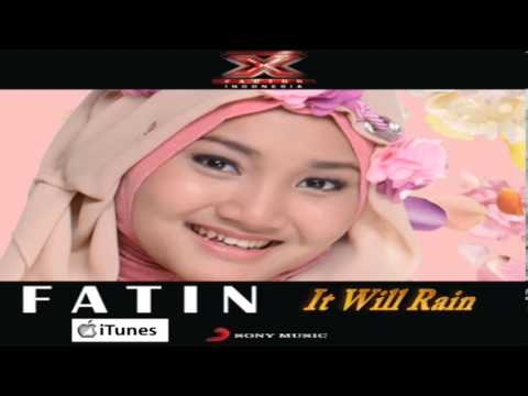 Fatin Shidqia Lubis XFI ITunes DEMO (IT WILL RAIN / BRUNO MARS)
