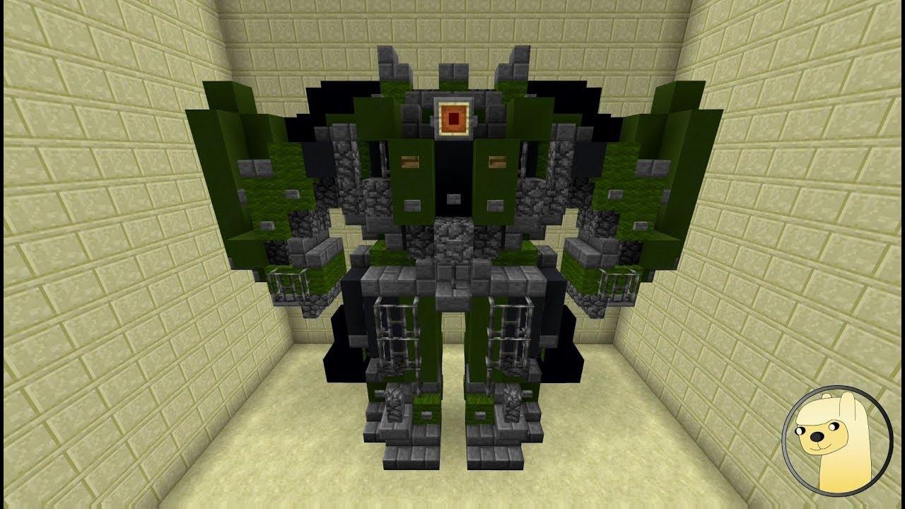 люблю робот в майнкрафте постройка способ