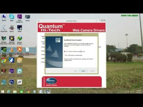 How To Install Drivers And Set Up Quantum QHM500-8LM USB PC Webcam (settings & Testing Part 2)