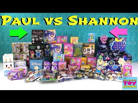 Paul vs Shannon Dice Game Challenge | Disney Funko Shopkins MLP | PSToyReviews