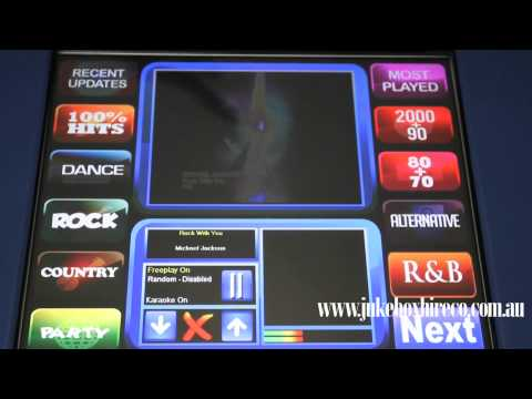 Jukebox Karaoke machine hire from Jukeboxhireco.mov