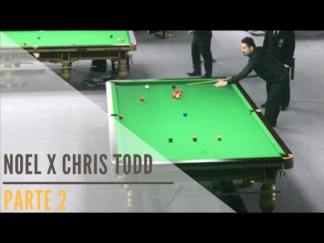 Noel x Chris Todd - Parte 2: Campeonato Mundial de Snooker IBSF Masters - Doha / Qatar 2017