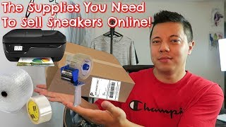 The Supplies You Need To Sell Sneakers Online! (StockX, eBay, GOAT)