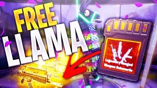 Opening *FREE* Into The Storm Llama's INSANE | Spider Crawls Above My Head | Fortnite Save The World