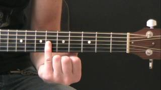 Crazier (Taylor Swift) Guitar Lesson - Part 1