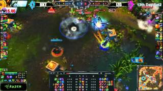 highlight lol proleague 2 by razer day 13 match 2 izg vs bkt
