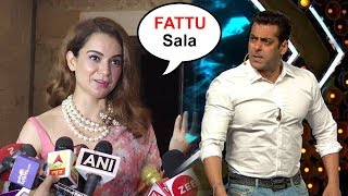Kangana Ranaut Makes FUN Of Salman Khan For Being SCARED Of Speaking Against PM Modi's Party