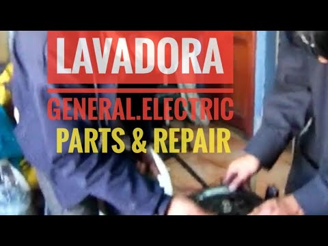 General Electric Lavadora 28libras Itelec Sa Youtube