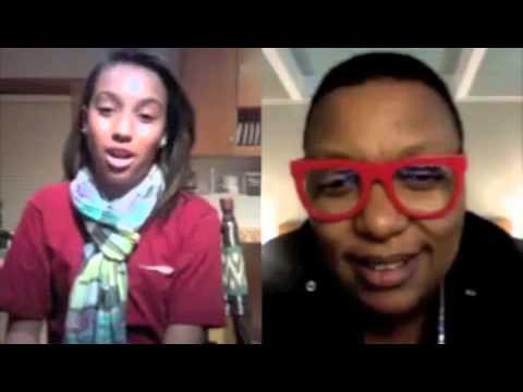 Aaliyah Interviews Meshell Ndegeocello