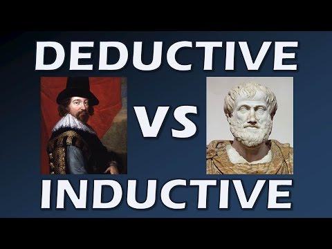 Deductive and Inductive Reasoning (Bacon vs Aristotle - Scientific Revolution)