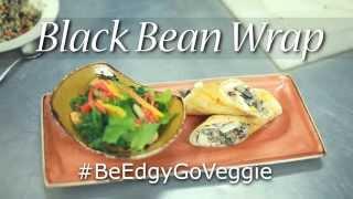 Hard Rock Guam's (Black Bean Wrap)