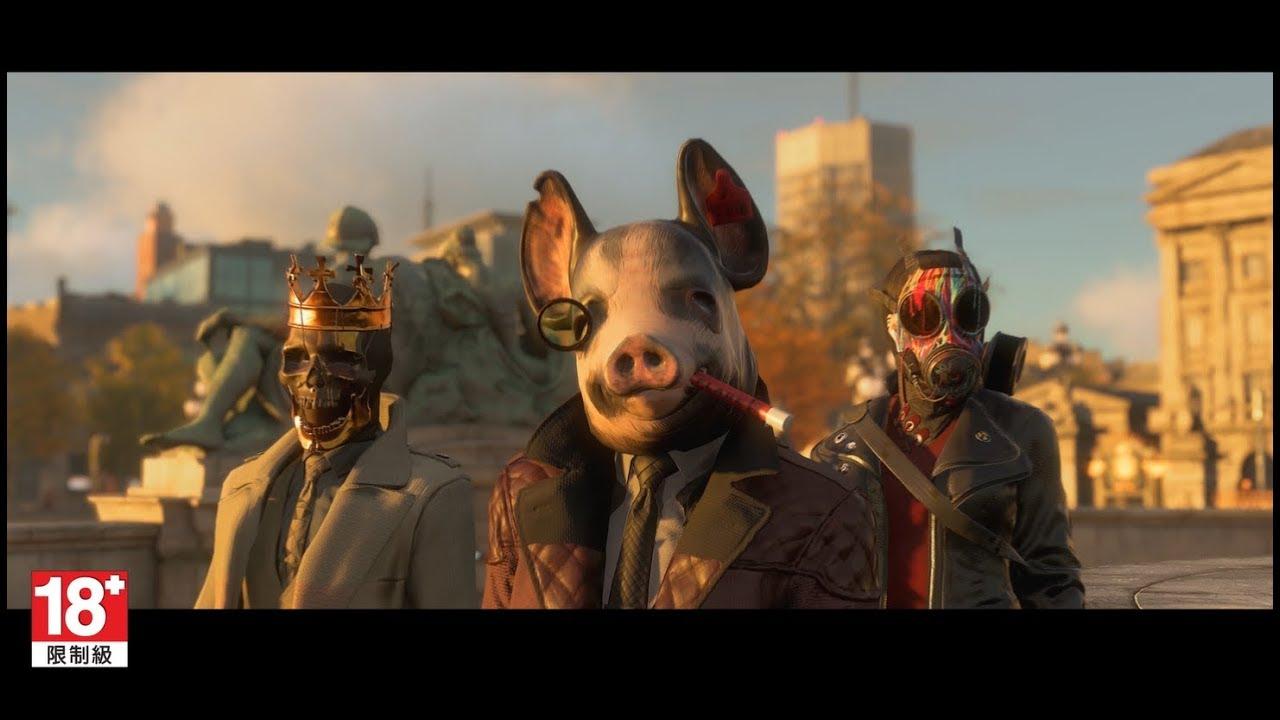 Watch Dogs Legion - E3 2019 World Premiere Trailer