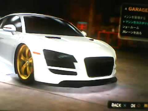 how to get audi r8 mcla