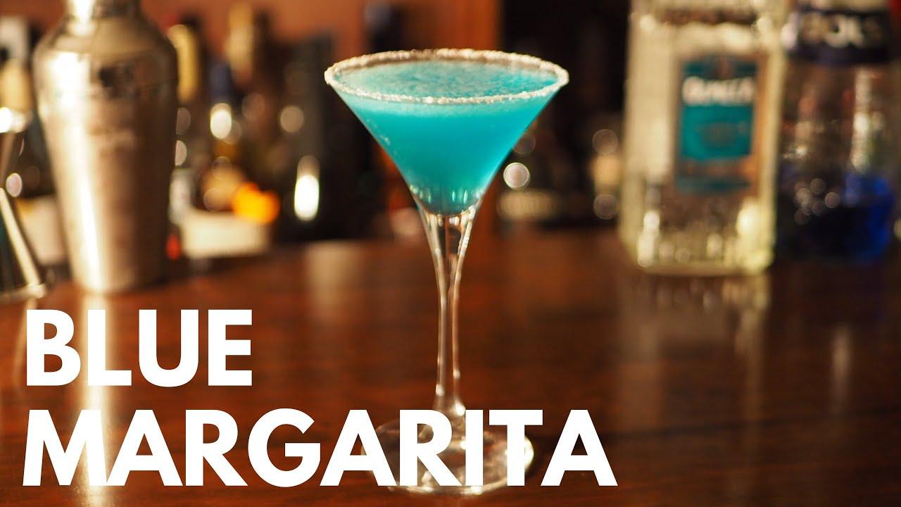 How to make a Blue Margarita cocktail カクテル「ブルーマルガリータ」の作り方