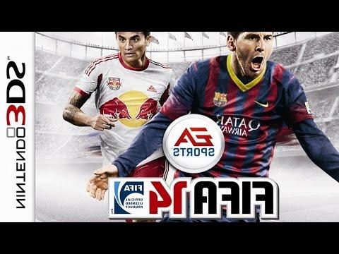 FIFA 14 Gameplay {Nintendo 3DS} {60 FPS} {1080p}