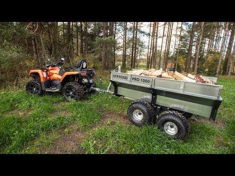 ATV TRAILER - Offroad PRO 1000