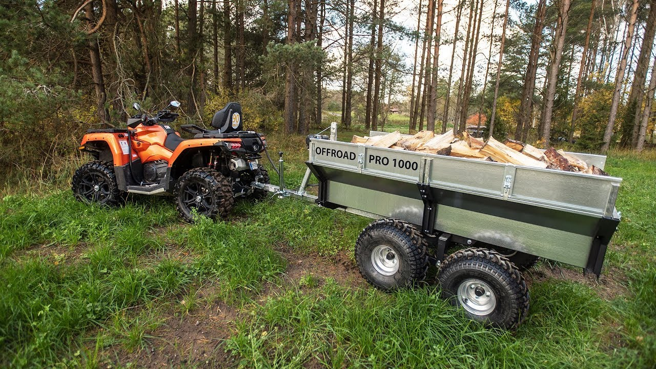 Trailer Offroad Pro 1000 | Iron Baltic