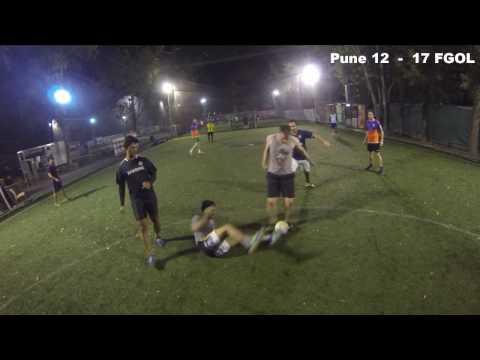 Pune Vs FGOL - 5 a side Football 08/12/16