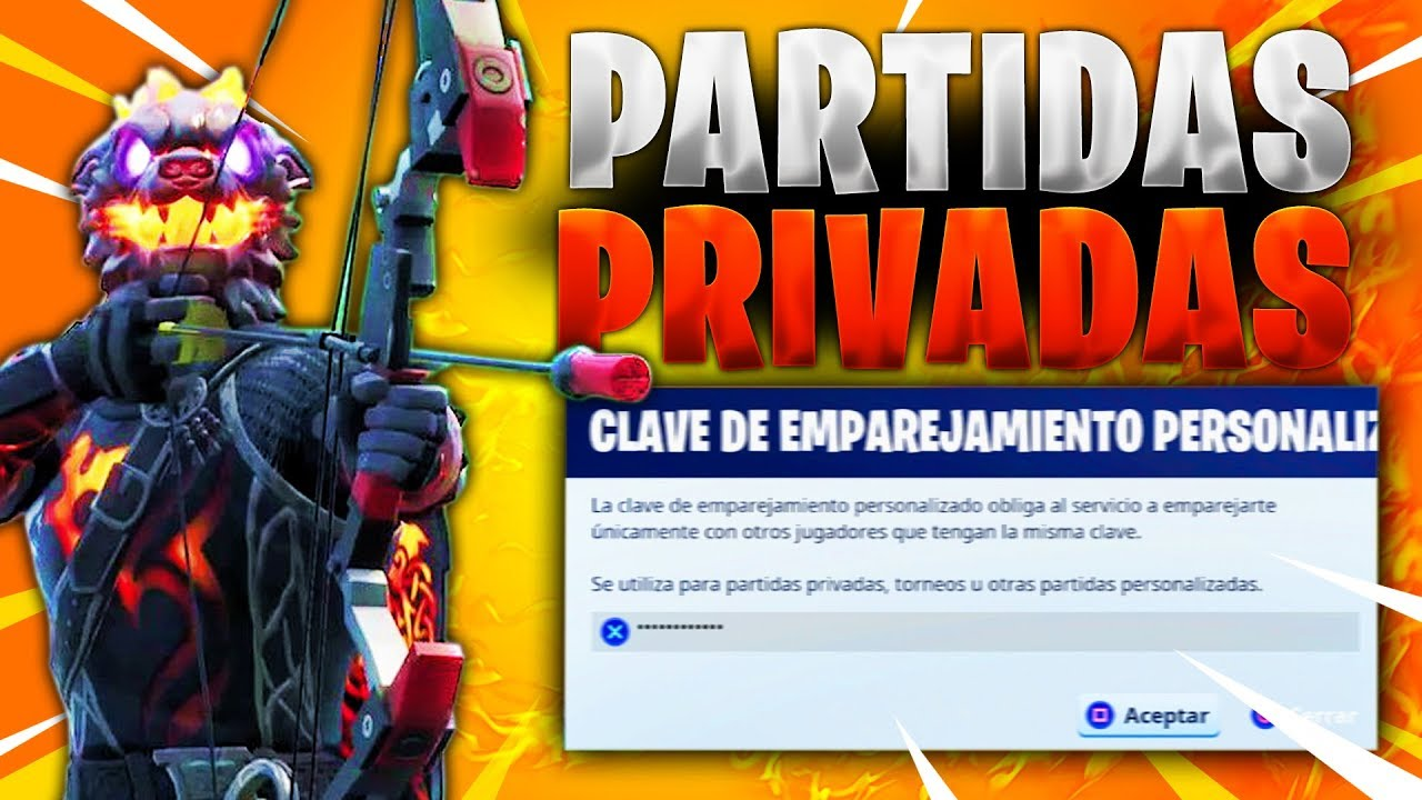 Partidas Privadas Fortnite En Directo Youtube