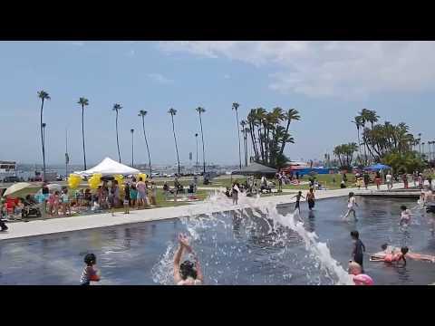 Zwiedzamy San Diego - Waterfront Park Downtown