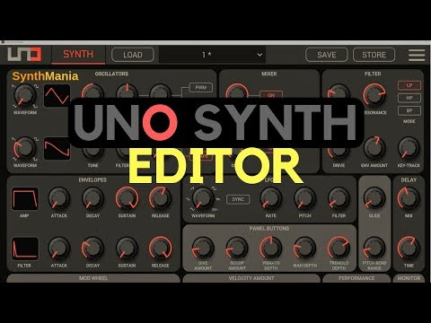 IK Multimedia UNO Synth Editor review Mp3