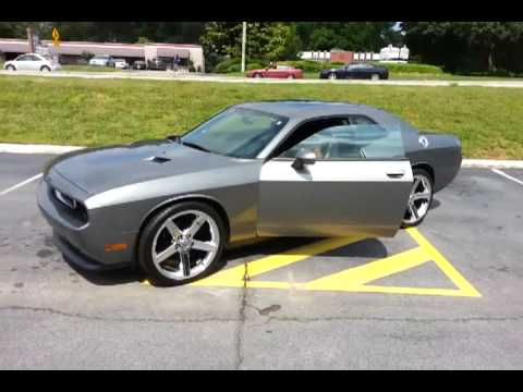 Iroc On Dodge Challenger Youtube