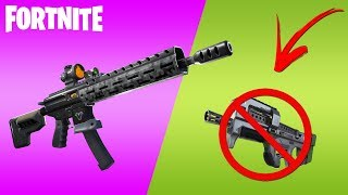 Fortnite-NEW RIFLE et SMG REMOVED ( Patch 9.01