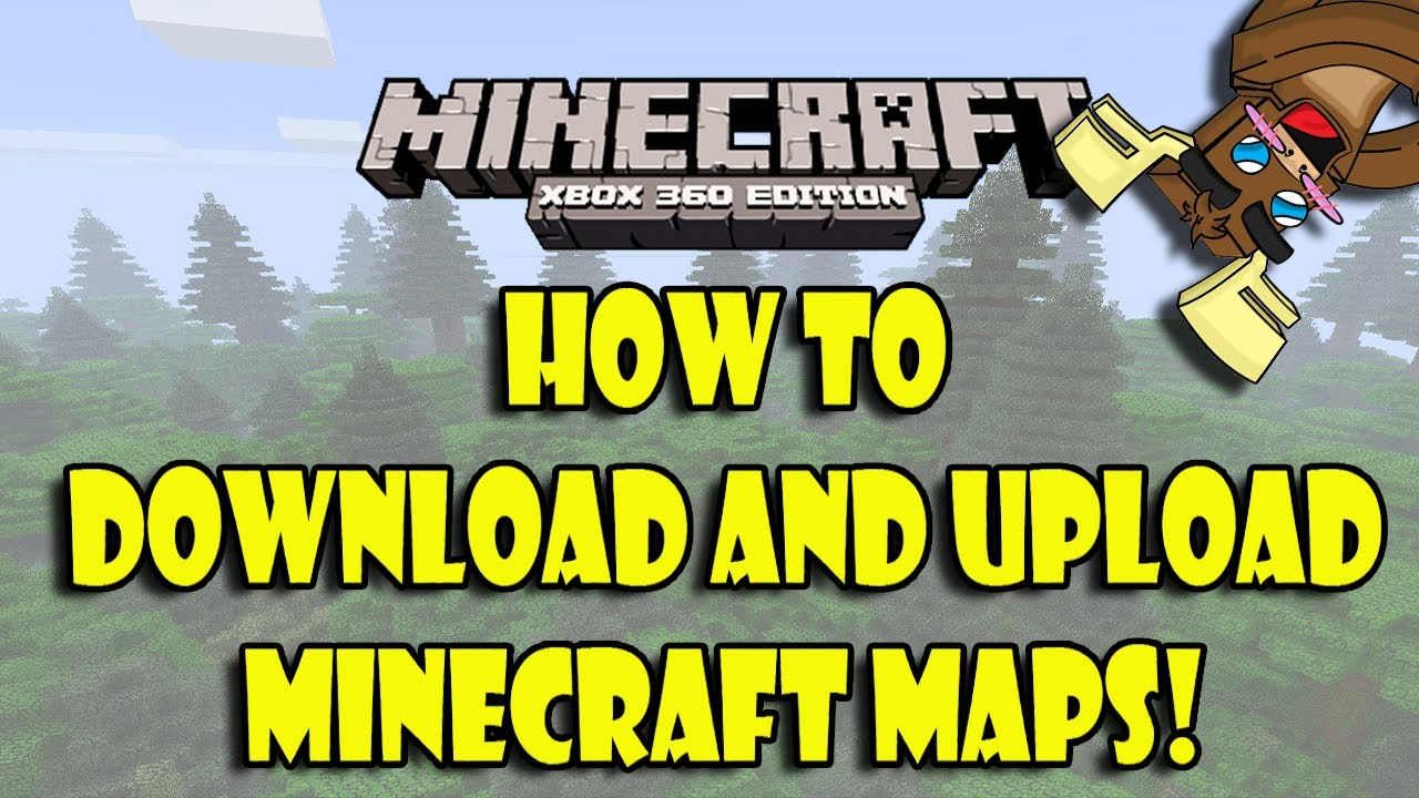 Minecraft (Xbox 360) How to Upload and Download Maps! - YouTube