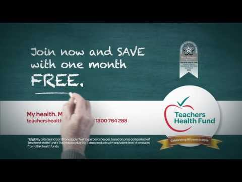 Teachers Health Fund - One Month Free from YouTube · Duration:  16 seconds