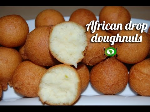 African drop doughnuts recipe