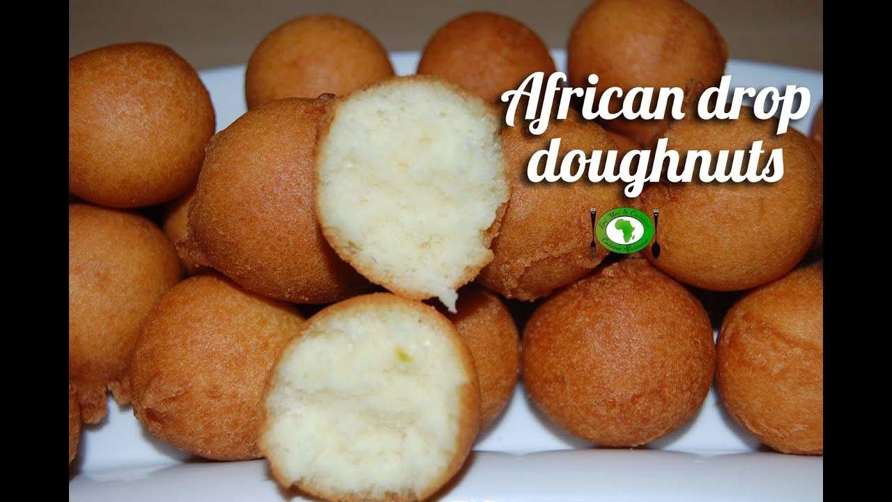 African drop doughnuts recipe