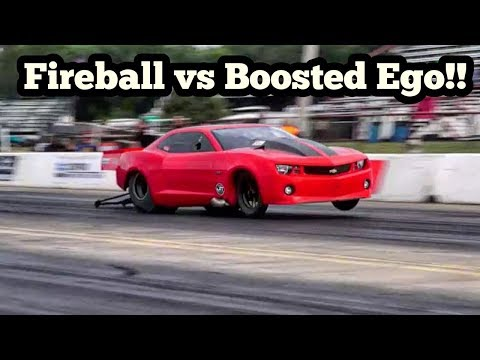 Fireball vs Boosted Ego Almost Crashes at Armageddon 5