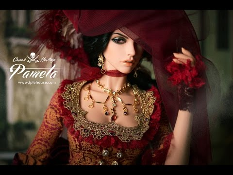 Распаковка куклы BJD,iplehouse-Cordelia(Carved Heritage) - YouTube