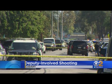 Short Pursuit Ends With Deputy-Involved Shooting In Cudahy