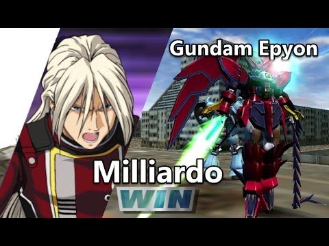 Gundam Vs. Gundam NEXT PLUS: Gundam Epyon - Arcade Mission G