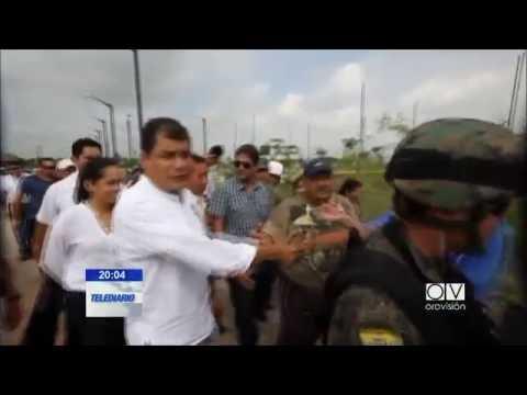 A traves de twitter Rafael Correa agradeció a colectivo