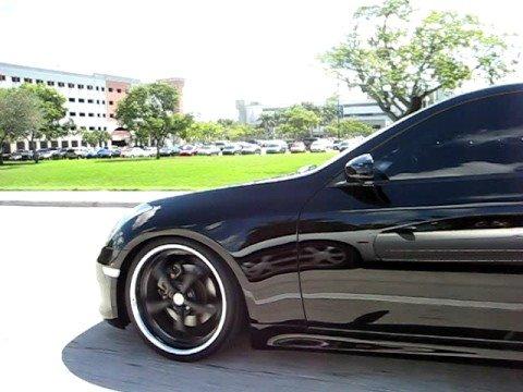2006 Infiniti G35 coupe black on back part 1  YouTube