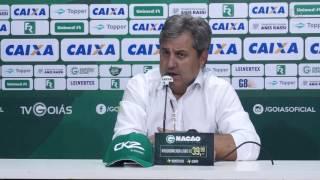 Técnico Gílson Kleina explica derrota do Goiás para Aparecidense