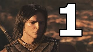 Prince of Persia The Forgotten Sands Walkthrough Part 1 - No Commentary Playthrough (PS3)