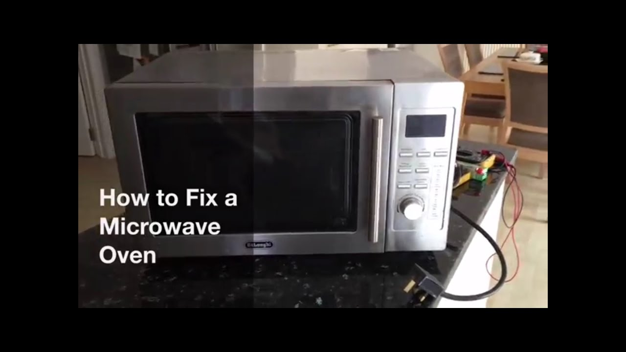 how to a fix a microwave oven ifixit