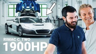 How a 1900HP+ Rimac Hypercar Is Built | Nico Rosberg