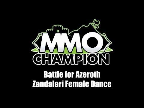 Patch 8.1.5 - Zandalari Female Dance