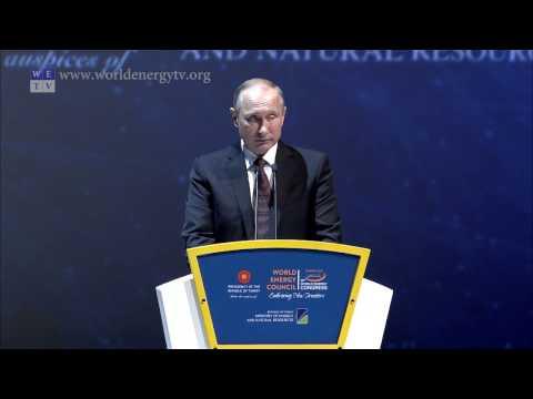 World Energy Congress | Vladimir Putin, President, Government of Russia